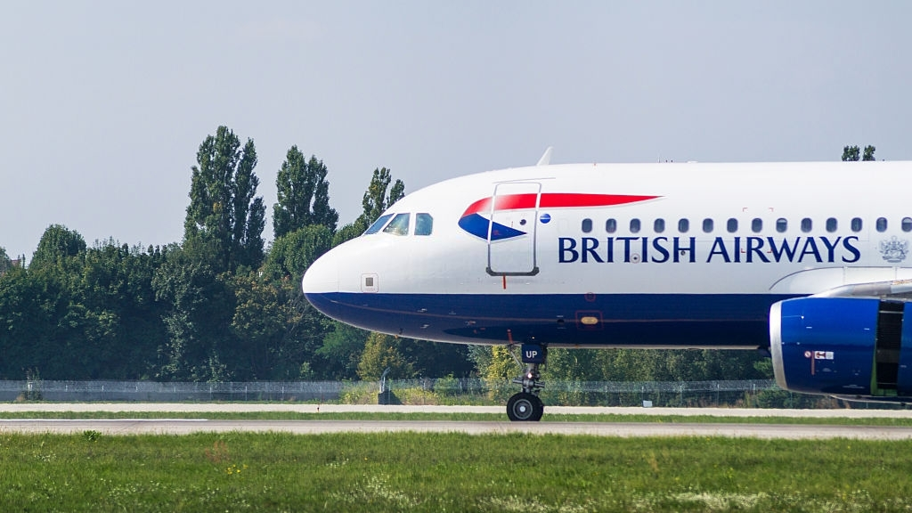 British Airways Booking.